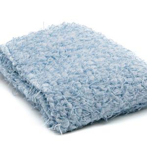 Threaded Blanket Blue