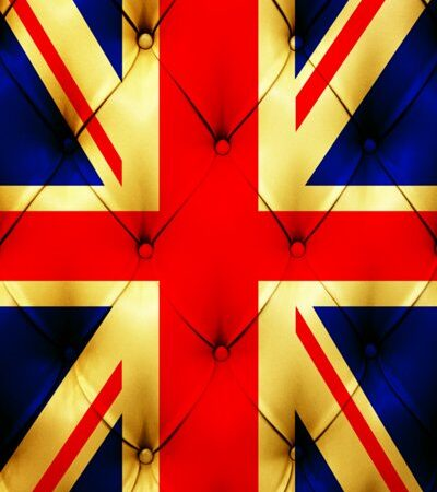 Union Jack Buttons Backdrop