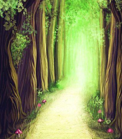 Fantasy Forest Backdrop