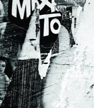 Newspaper Wall Black Backdrop