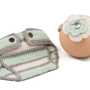 Hat And Nappy Set