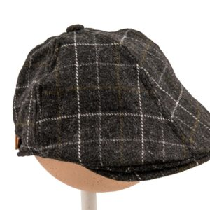 Grey Cheque Cap
