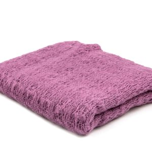 Knitted Blanket Lilac