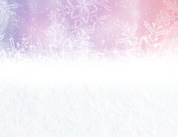 Pink Snowflake Bokeh Backdrop