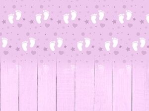 Baby Feet Grape Backdrop