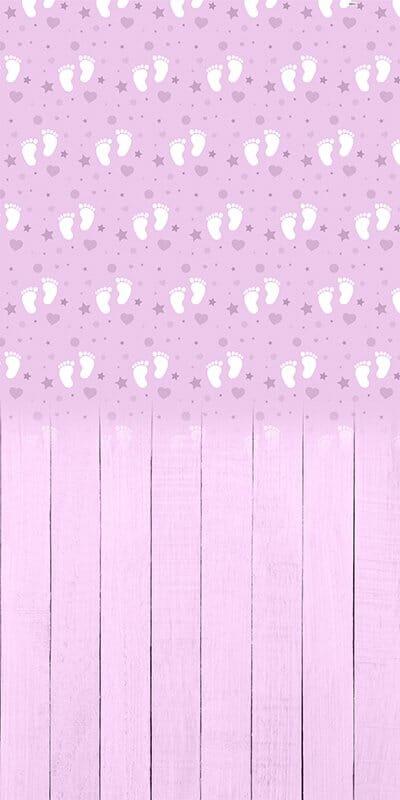 Baby Feet Grape Backdrop