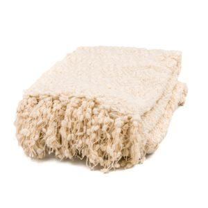 Tassel Blanket Creamy