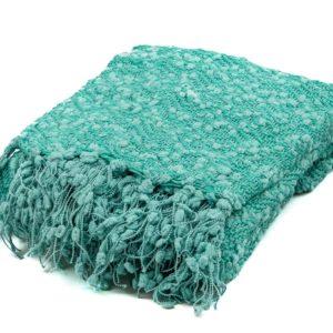 Tassel Blanket Teal