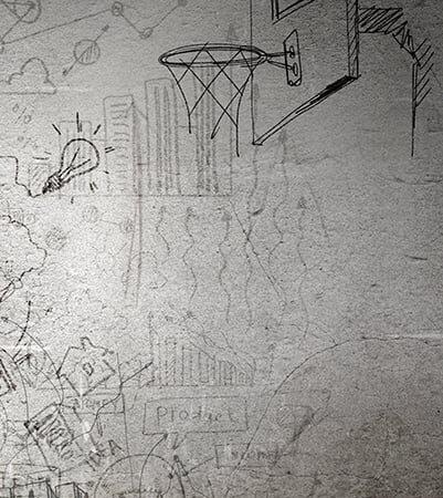 sports sketch backdrops photo