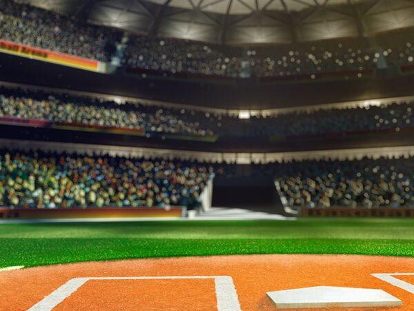Baseball Ground Backdrop
