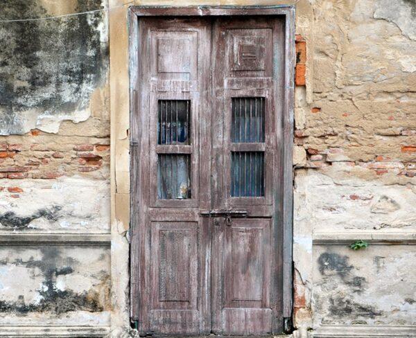 Derelict Door Backdrop
