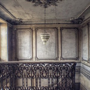 Abandoned Staircase photo prop