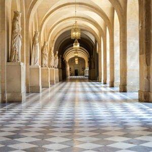 arched corridor backdrops photo