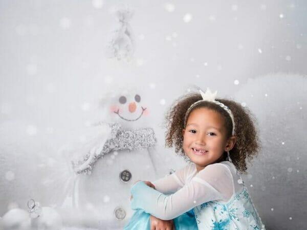 snowman photo backdrops