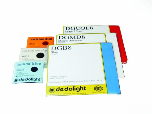 DGCOL Dedolight- Gel filter set, color effect (fits classic filter holder)