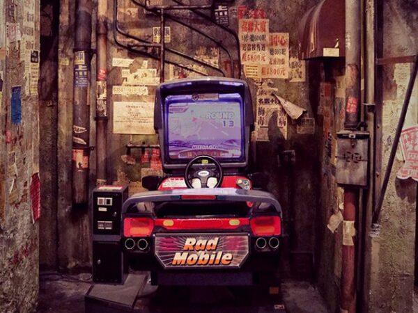 Tokyo Arcade Backdrop
