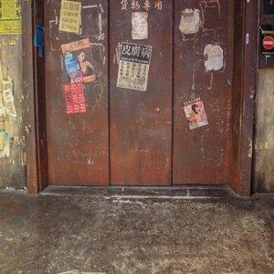 Warehouse Elevator Backdrop