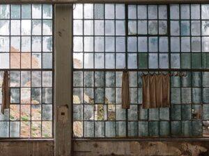 Factory Windows Backdrop