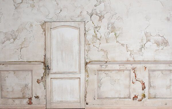Derelict Mansion Wall