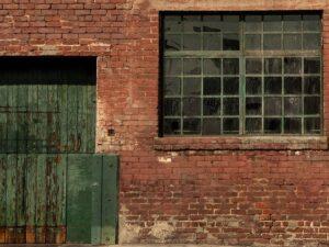 Factory Exterior Backdrop