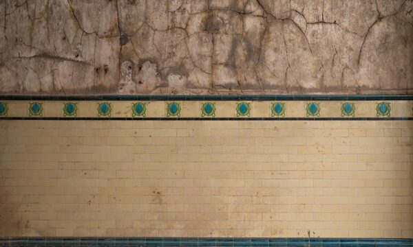 Derelict TIled Wall
