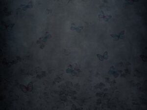Butterfly Blues ProFabric Backdrop