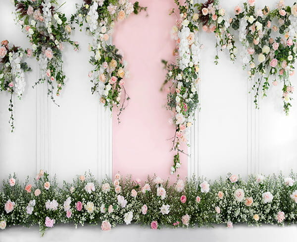 Floral Wedding Wall
